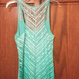 American Eagle Outfitters Tops - American Eagle 🦅 | Tank Top | Green | Size XL